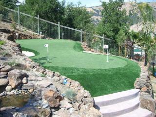 Gazon synthétique pour mini golf