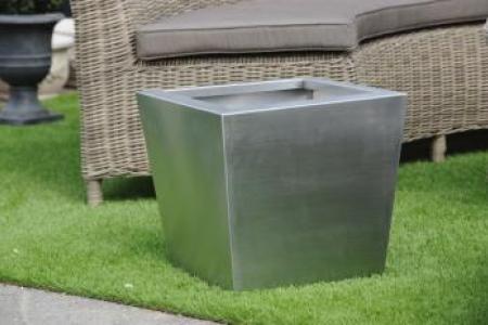 Pots en Inox carrés coniques