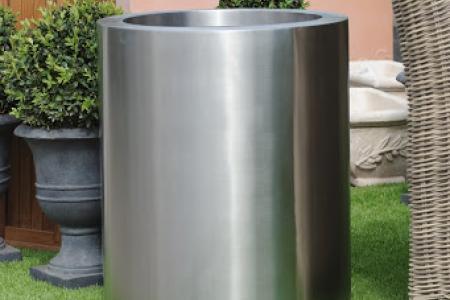 Pots en Inox cylindrique