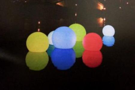 Boules et sphères lumineuses
