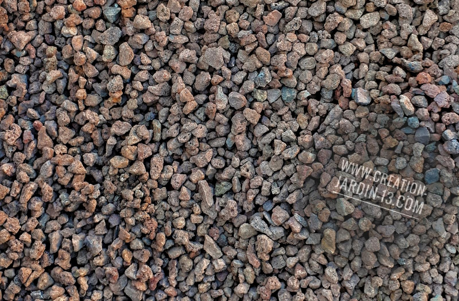 Pouzzolane, la pierre de lave