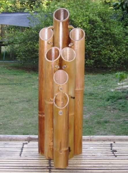 Fontaine en bambous vente fontaines et bassins marseille 13 - Fontaine en bambou ...