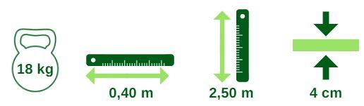 Gazon en rouleau et plaque : poids, taille, épaiasseur